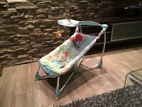 Chaise vibrante Fisher price!