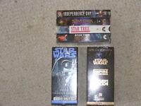 SciFi Fans Alert VHS Videos
