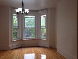$1300 / 2 bdr, Plateau-mont-royal, Sunny. Renovated. Clean.