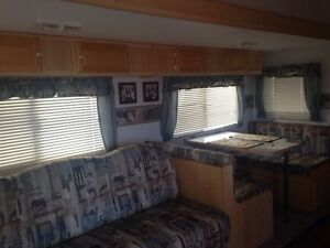 Terrains de camping a louer incluant un quai pour bateau $3,500.
