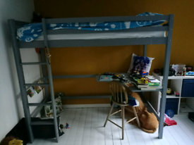 Bunk Bed with Desk.