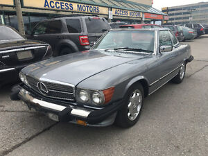1986 SL560 US CAR