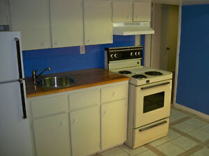 *Nice, Clean one Bedroom basement apartment