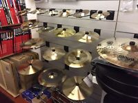 Various cymbals - all brand new from Stagg, Meinl, Istanbul-in stock! Crash, ride, hi-hats, splash