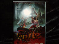 Bruce Campbell Army of Darkness LIMITED EDITION - 2 Disc DVD   A