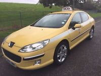 2005/55 PEUGEOT 407 2.0 HDI DIESEL, 6-SPEED MANUAL, SALOON***NEW MOT***DRIVES GREAT***FORMER TAXI