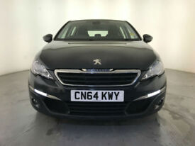 2014 PEUGEOT 308 ACTIVE BLUE HDI DIESEL 1 OWNER SERVICE HISTORY FINANCE PX