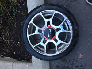 Fiat 500 Sport Wheels 195/45r16 Michelin Pilot Sport AS3