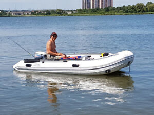 Inflatable Boat for sale in used once just like new.