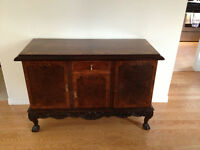 Antique Burled Walnut Buffet / Server - PRICE REDUCED.