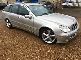 2005 '05' Mercedes C220 CDi AVANTGARDE SE AUTO Estate. Automatic Diesel. Px Swap