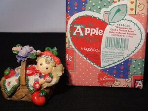 """The Apple Of His Eye """"Wrapped In God's Sweet Love"""" Figurine"""
