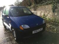 Fiat Seicento 0.9 S AUGUST 2018 MOT,LOW MILEAGE,2 PREVIOUS OWNERS