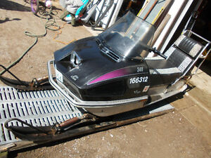 1973 Arctic Cat Panther 340 Snowmobile with Electric Start