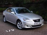 AA WARRANTY!! 57 REG LEXUS IS 220d 4dr 2.2, 6 SPEED, LONG MOT, FSH