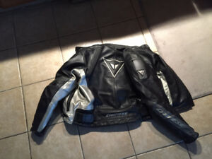 Dainese Motorcycle Jacket *Men's Size 52 (Mens M-L)