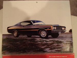 New 2002 GEAT AMERICAN CARS 12 Month CALENDAR. Issued by AKZO NO Sarnia Sarnia Area image 10