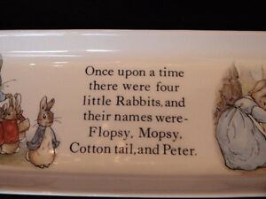 """Wedgwood Collection, Peter Rabbit """"Pencil Tray"""" London Ontario image 4"""