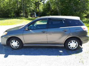 2005 Toyota Matrix XR for sale.