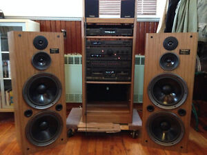 High-end vintage sound system (Technics) - reduced price