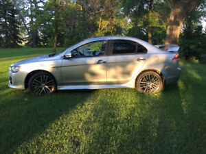 Reduced 2017 Mitsubishi Lancer GTS awesome on fuel