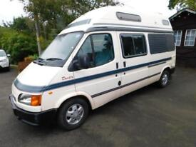Auto Sleeper DUETTO, 1998, 84k Miles, 2 Berth, Ford 2.5 Diesel, Awning, Tow Bar!