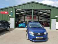 2014 Dacia Sandero 1.2 16v MANUAL PETROL Ambiance PX WELCOME