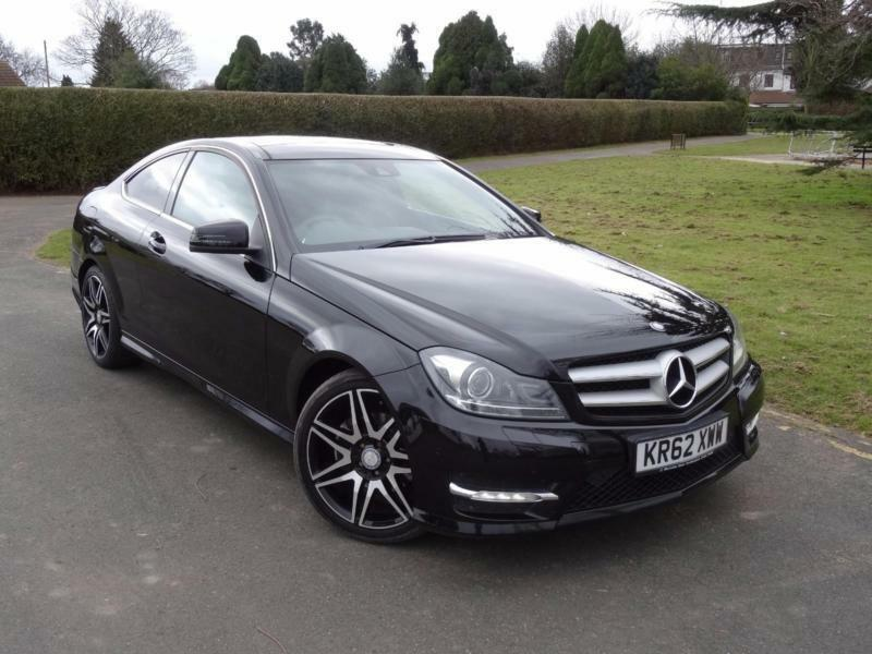 mercedes c class c220 cdi blueefficiency amg sport plus coupe 2012 62 in ilford london gumtree. Black Bedroom Furniture Sets. Home Design Ideas
