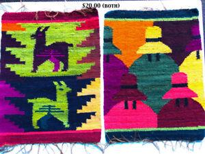 2 new Peruvian Tapestries - $ 20.00 both