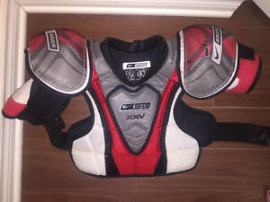 BAUER cherst protecteur JUNIOR Large