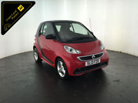 2013 SMART FORTWO PASSION MHD AUTO COUPE 1 OWNER SERVICE HISTORY FINANCE PX