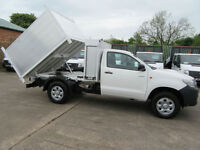 2013 Toyota Hi-Lux Tipper H2 .29,000 4X4 Single Cab New Arborist Storage Arb