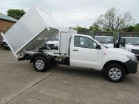 2013 Toyota Hi-Lux H2 .29,000 4X4 Single Cab New Arborist Tipper Storage Arb