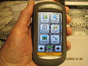 GPS GARMIN OREGON 200 AVEC CARTE TOPO 1/20 ET MARINE
