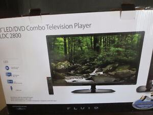 """28"""" LED television and dvd player Cornwall Ontario image 1"""