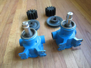 Two JABSCO PUMPS & PULLEYS