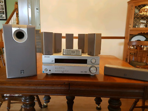 Pioneer Receiver With Yamaha Speakers NO HDMI