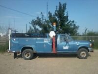 1993 FORD F550 FULLY TOOLED SERVICE TRUCK ( TURN KEY BUSINESS)