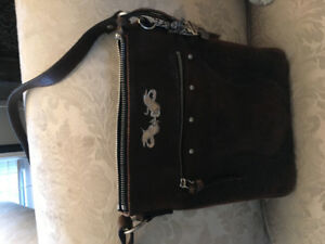 Women's Harley Davidson jacket/purse