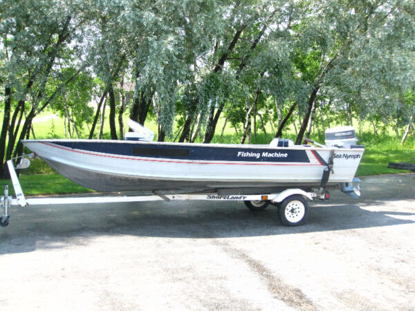 Used 1998 Other 16 ft sea nymph aluminum