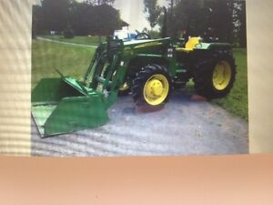John Deere 5045E Utility Tractor with 533 Loader