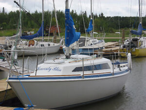 Sailboat Abbott 22 in very good condition