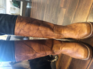 Women's Authentic Leather Frye Boots