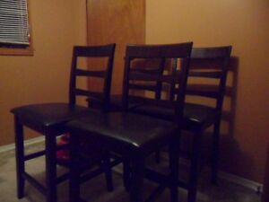 Kitchenette padded chairs 4