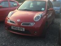 Nissan Micra 1.4 16v Tekna - LOW MILES - PETROL - LONG MOT - CHEAP