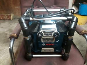 Bosch jobsite radio heavy duty
