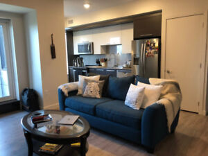 Furnished 1 bed + Den Short Term Rental in Trendy Hydrostone