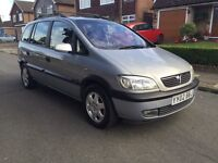 2002 Vauxhall Zafira 1.8 MPV 7 Seater 1 Owner & 70,000 Miles