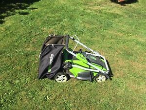 """16"""" electric 2in1 lawnmower"""
