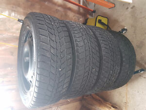 4 - 225 55 17 winter tires AND rims